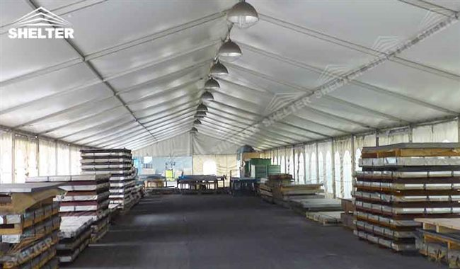 Temporary Warehouse Structures for Industrial Construction | SALE