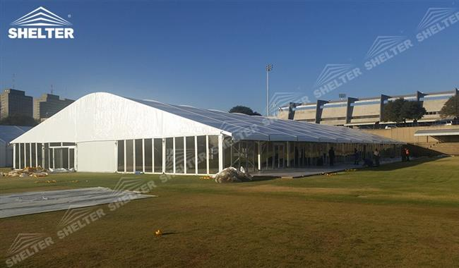 Arch Roof Workshop Building for Production u0026 Assembly & Workshop Building - Fast Erected Aluminum Tent Structure Manufacturer