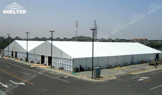 Industrial Tents - Temporary - Permanent Warehouse Builder ...