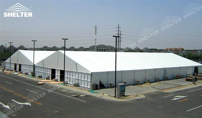 CATEGORY Industrial Tents & 30m x 60m Solid Warehouse Tent with ABS Panel | Worwide Wholesale
