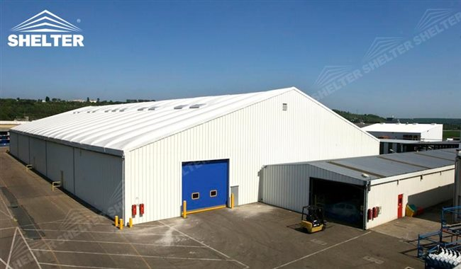 Tent Storage Buildings : Temporary storage buildings for seasonal need fabric