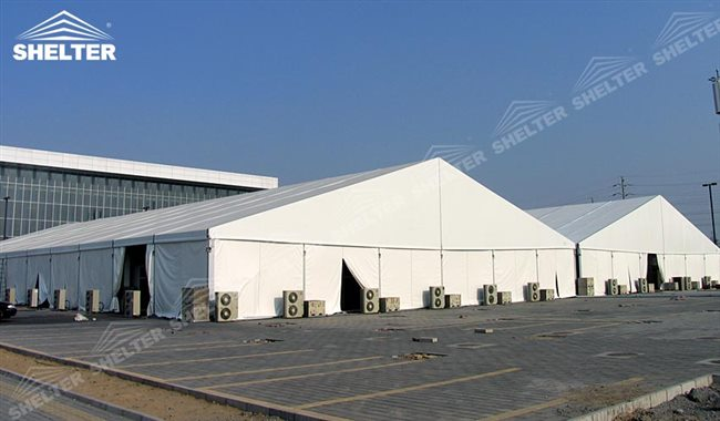 Temporary Construction Tents : Rapid deployed construction tent for mining canopy shed