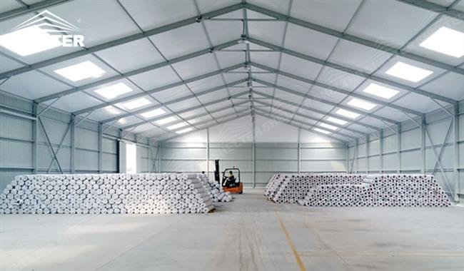 Outdoor Storage Tents Clearspan Warehouse Structures In