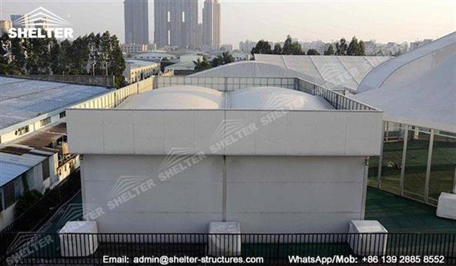 CATEGORY Commercial Storage & Pop Up Retail Tent - Clearspan Tent - Prefabricated Structures Supplier