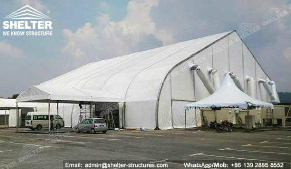 Aircraft Hangar Ventilation : Aircraft hangar airport terminal aviation tent