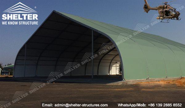 CATEGORY Aircraft Hangar & Modular Military Hangar Building | Shelter Hangar Construction ...