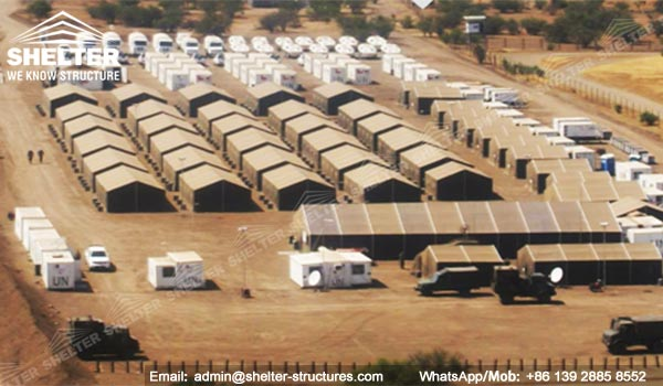 Construction Tents And Shelters : Products clear span structure industrial logistics
