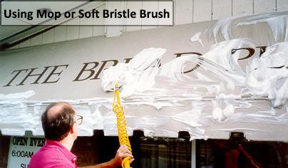 Using Mop Or Soft Bristle Brush Warehouse Structure