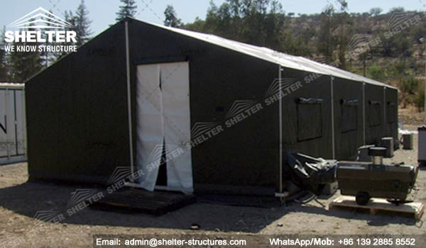 CATEGORY Military Tent & Army Modular Tent with Opaque PVC Vinyl - Military Shelter ...
