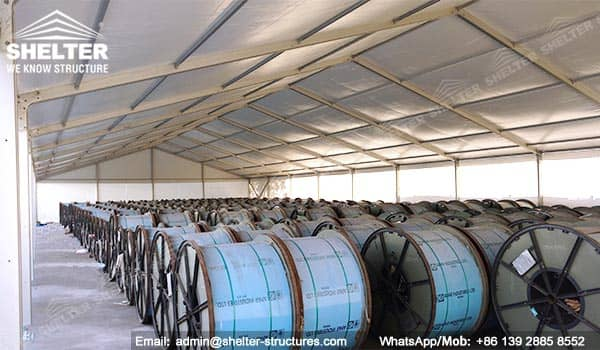 Industrial Tents - Temporary - Permanent Warehouse Builder |America