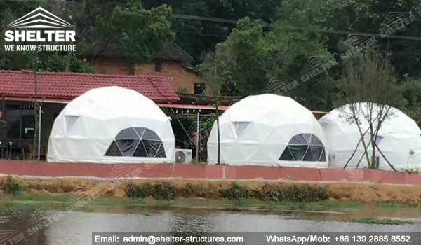 Shelter Tent Mining : Mining camp solutions fabric dome shelters tent