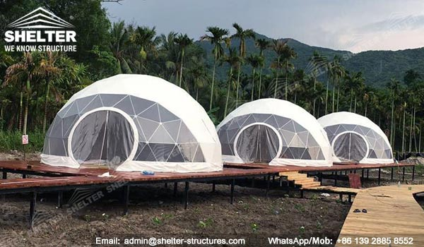 Mining Camp Solutions Fabric Dome Shelters Tent
