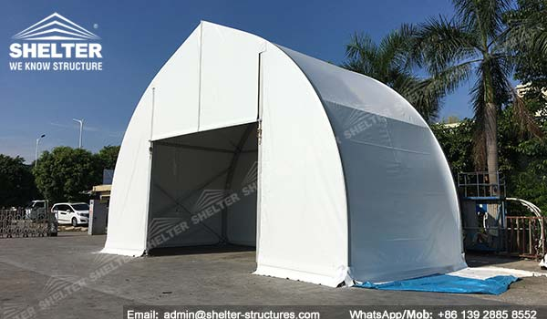 Shelter Tent Mining : Temporary fabric storage building for civil and mining
