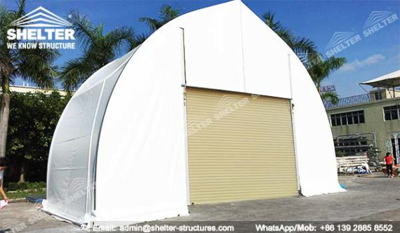 Temporary Buildings Structures : Oilfield mining tent for outdoor construction projects