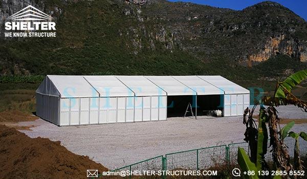 CATEGORY Oilfield u0026 Mining & Clear span Fabric Building for Mining Camp Warehouse - Bulk ...
