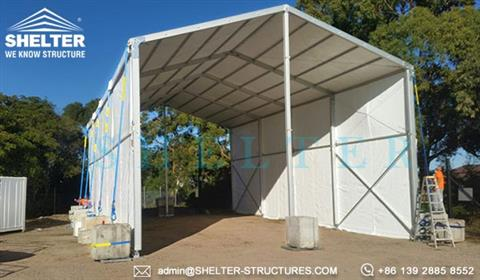VIEW PRODUCT. Rapid deployment ... & Temporary Military Tent System - Clear Span Fabric Tent Shelter ...