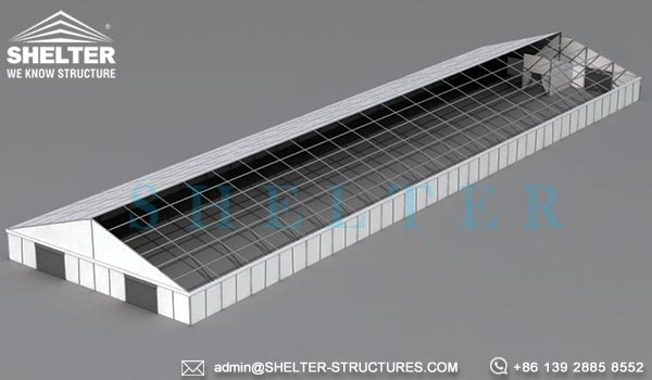 Semi Permanent Boeing Hangar For Sale Aircraft Shelters