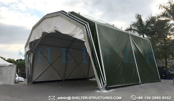 We know structures thatu0027s why we know how to serve you better. & Prefab Military Vehicle and Aircraft Shelter - Sun Shade Hangar ...