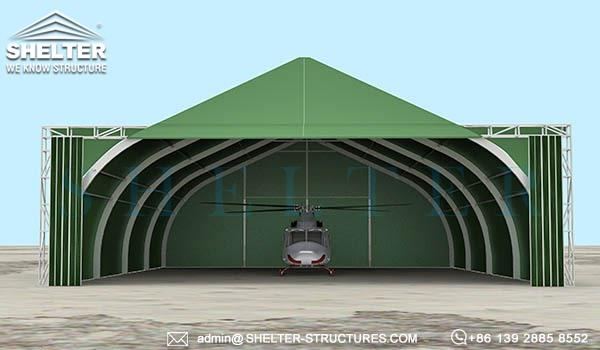 aircraft shelter-military army navy hangar buildings-rapid deployment relocatable weather withstand (4)